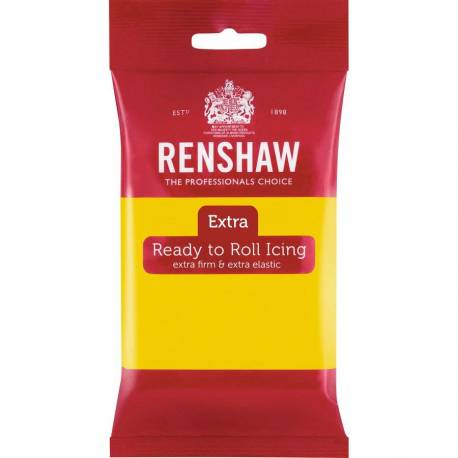Renshaw EXTRA YELLOW Sugar Paste 250g