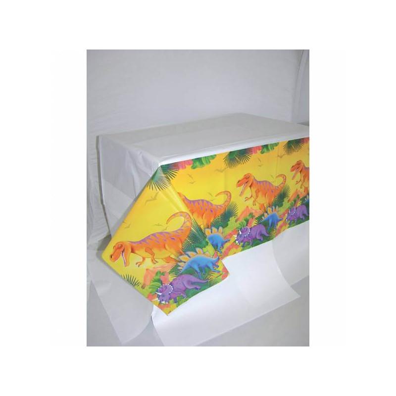 Plastic tablecloth DINOSAURES