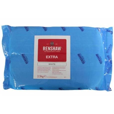 Renshaw EXTRA WHITE Sugar Paste 2.5 KG