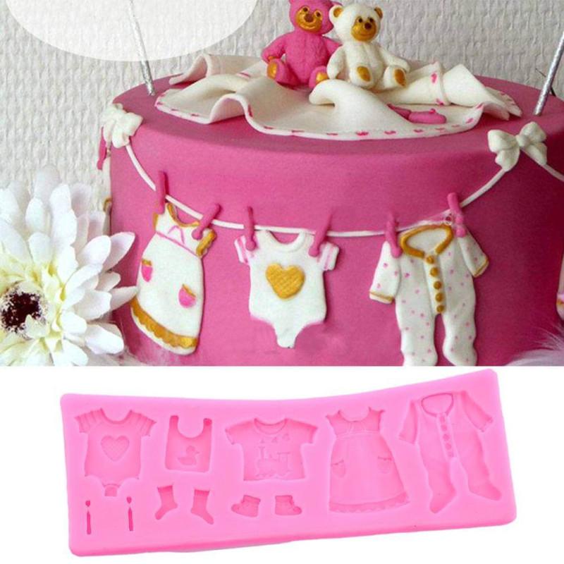 Moule Habits de Bébé en silicone