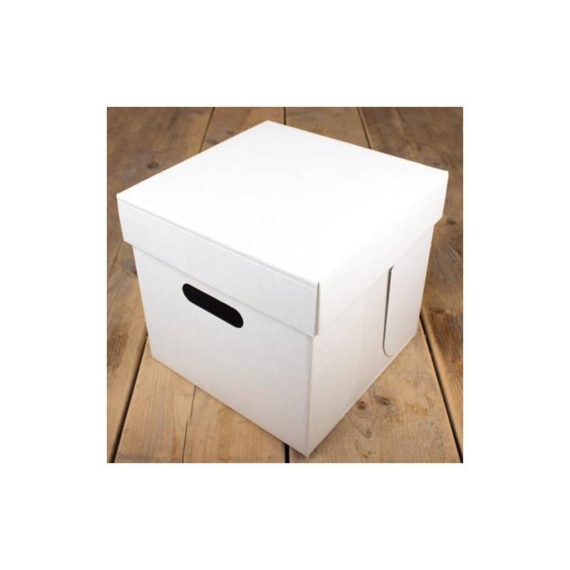 Cake Box BLANK cubic 25cm