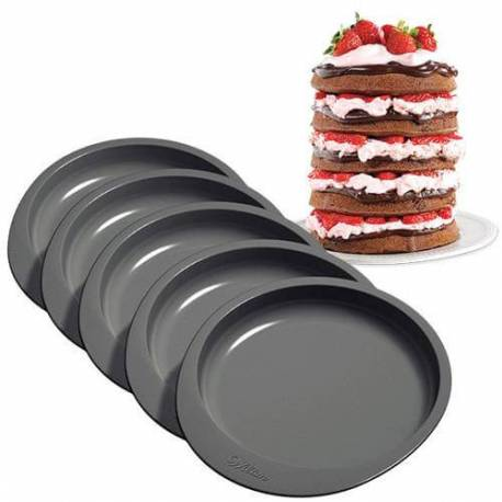 Set of 5 LAYER CAKE Cake pan - 15cm