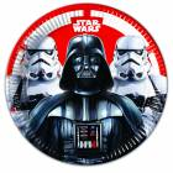 8 STAR WARS plates