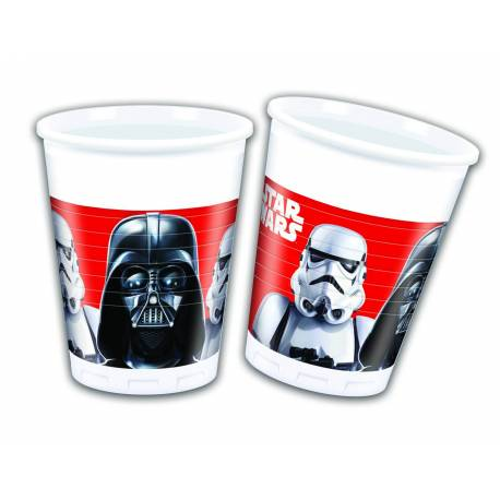 8 STAR WARS cups