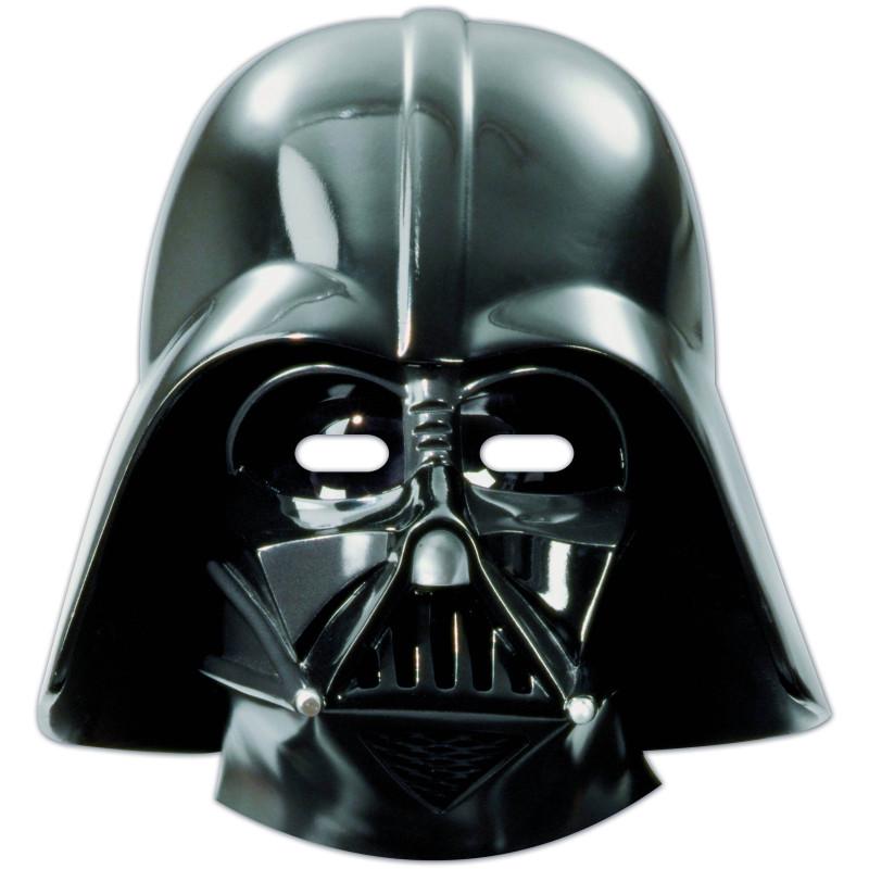 6 STAR WARS -Dark Vador Masks