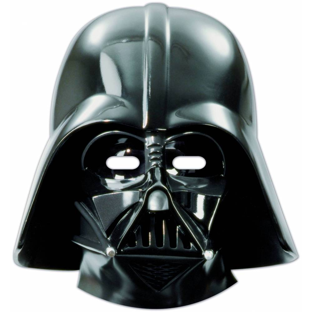 6 Star Wars Dark Vador Masks Planete Gateau