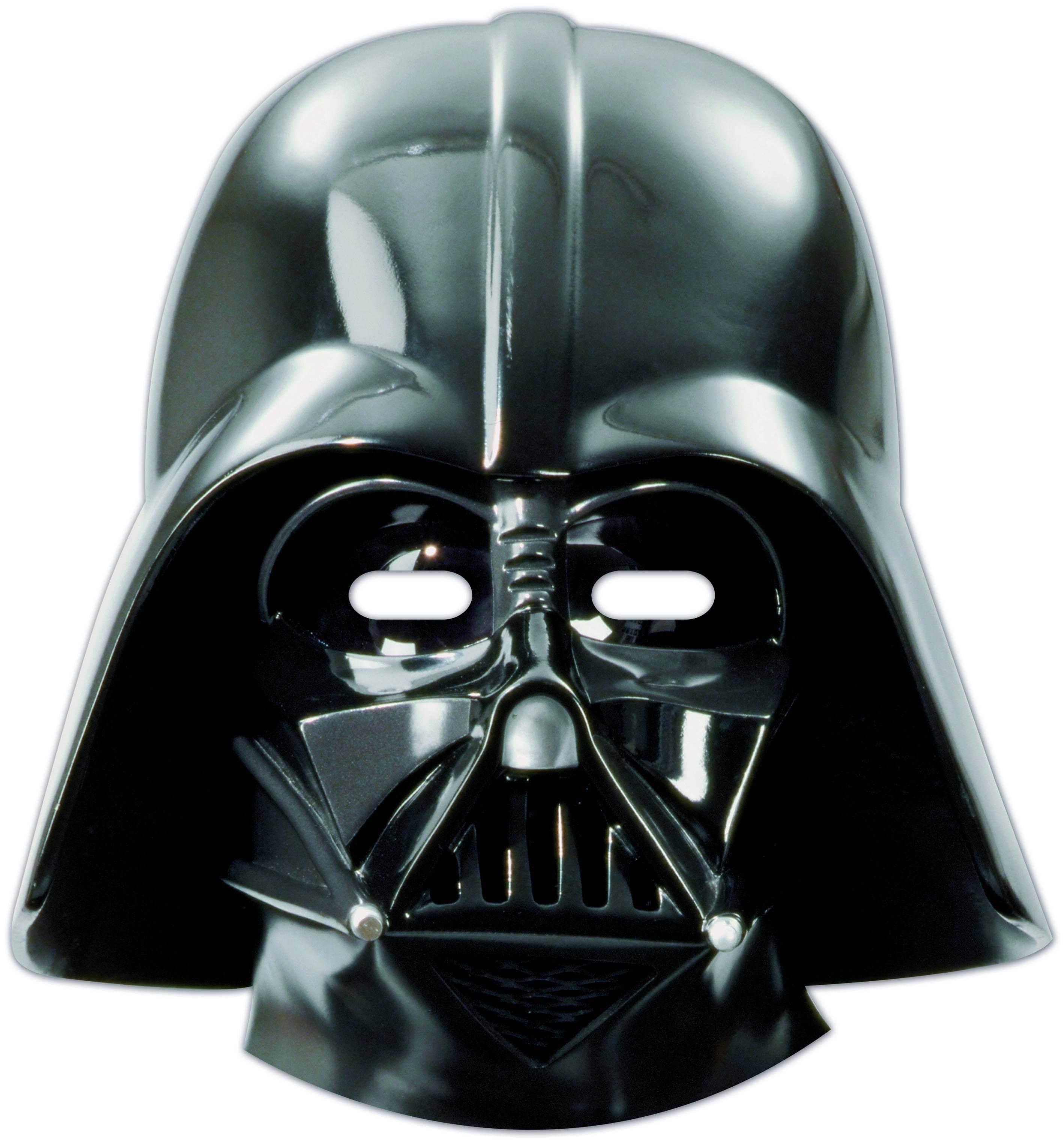 6 Masques Star Wars Dark Vador Planete Gateau