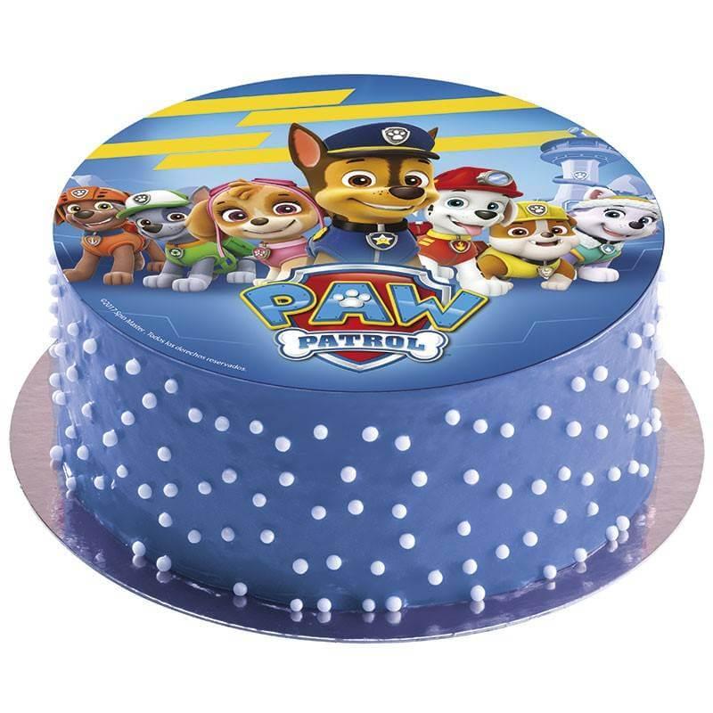 тортики с картинкой щенячий патруль
