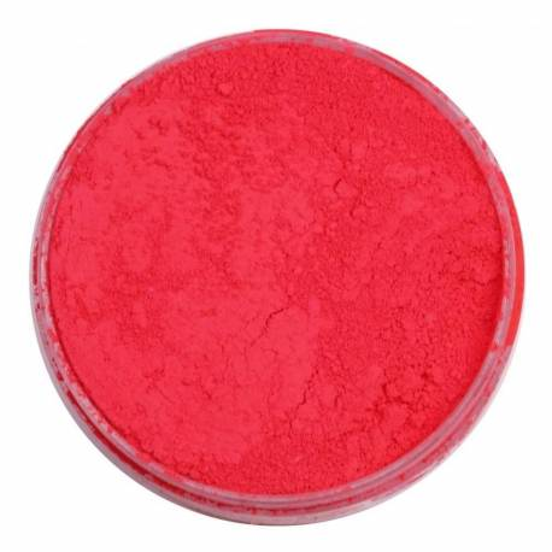 Colorant en poudre Fluorescent rouge corail Rolkem 5,7 g