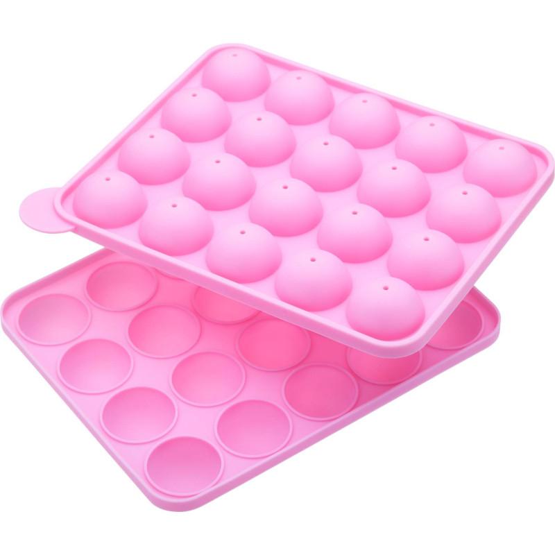 Moule en silicone pour 20 sphères Cake pops