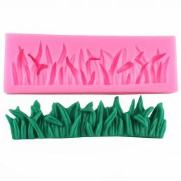 Mould in silicone border grass / turf