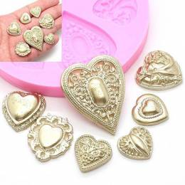 HEARTS jewelry silicone mould