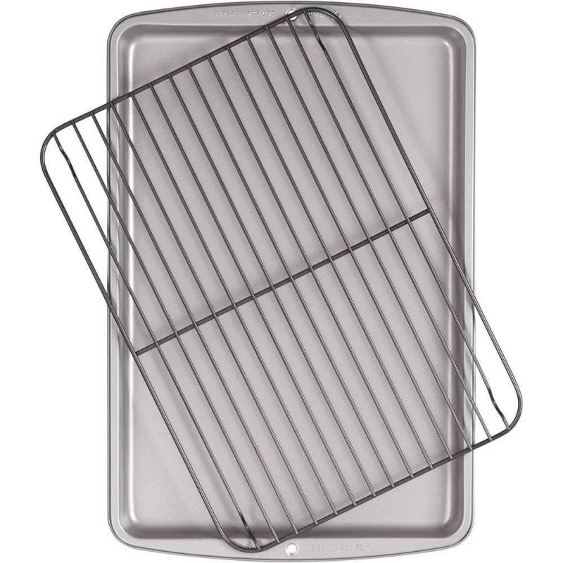Rejilla de refrigeración + placa de apoyo WILTON 35x25cm