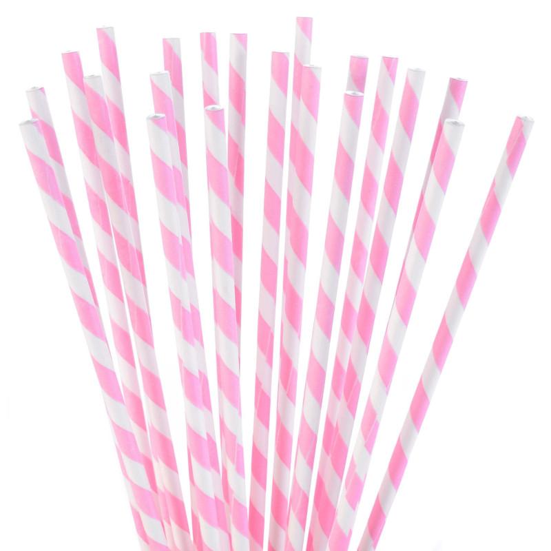 24 roses and WHITE striped pop cake sticks