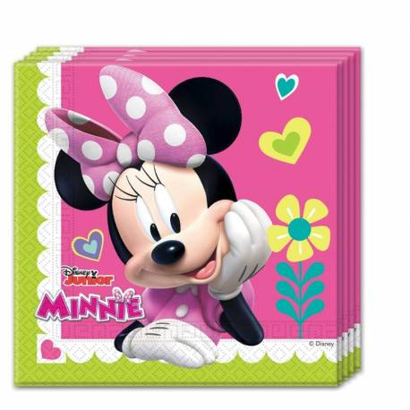 20 Servilletas MINNIE HAPPY