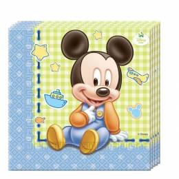 20 MICKEY BABY towels
