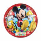 8 Assiettes MICKEY