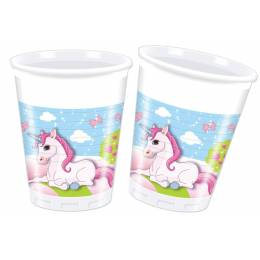 8 cups Unicorn