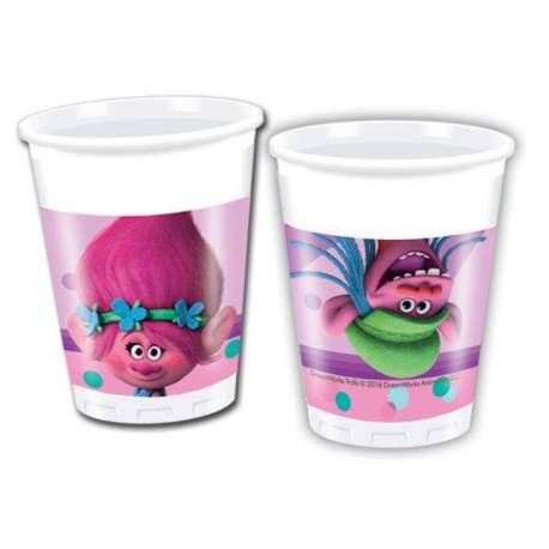 8 Cups THE TROLLS