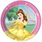8 plates DISNEY PRINCESSES