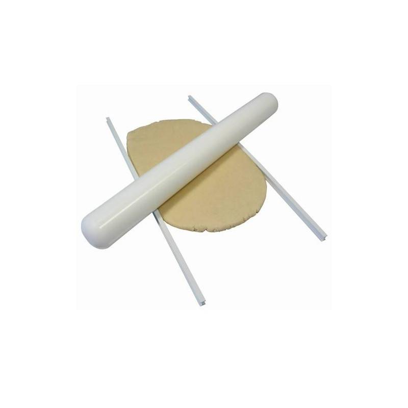 2 Toises / Gabarits pour étaler une pâte à sucre uniforme