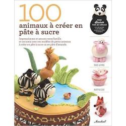 Libro 100 animales para crear en pasta de azúcar
