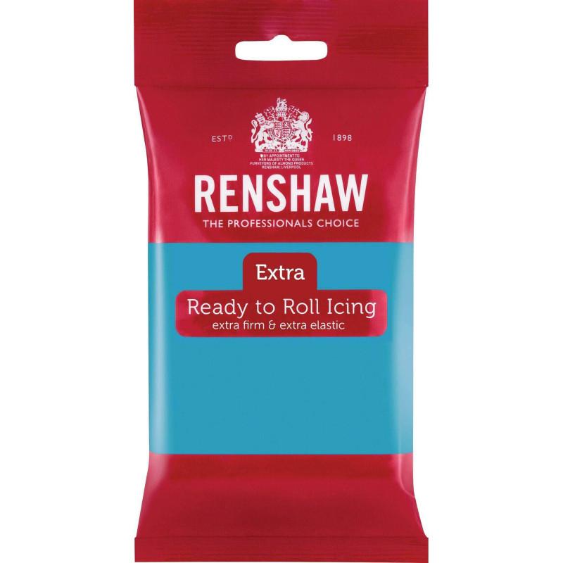 Renshaw EXTRA TURQUOISE Sugar Paste 250g