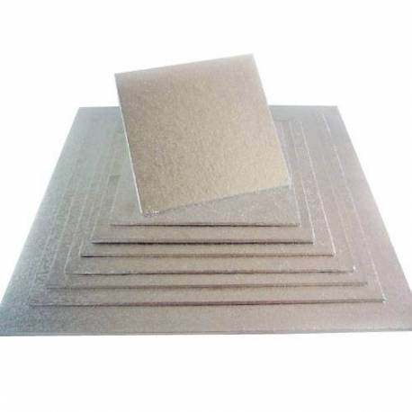 Cake Board thin 3mm SQUARE 20cm