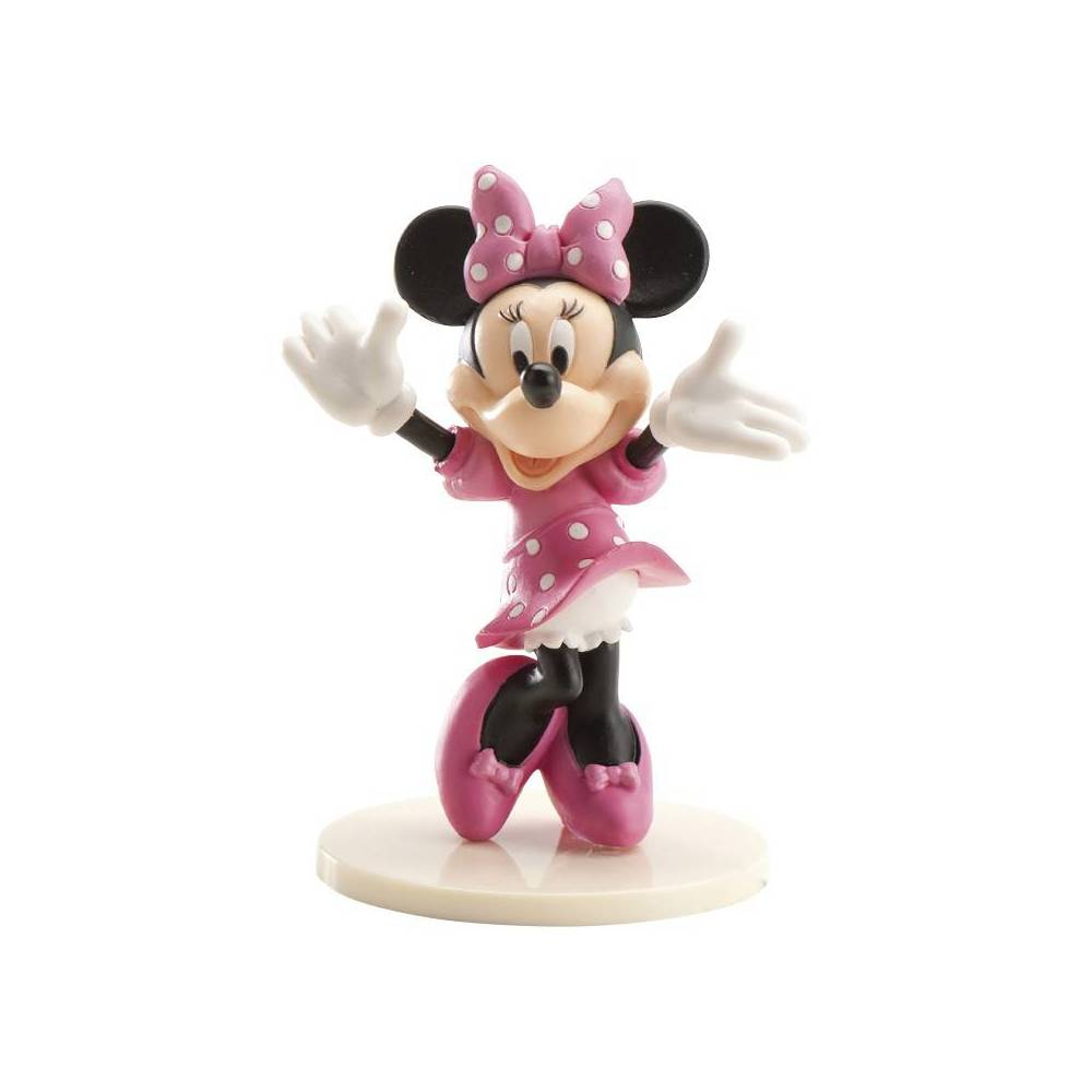 figurine en plastique minnie 7 5 cm cake design et patisserie. Black Bedroom Furniture Sets. Home Design Ideas