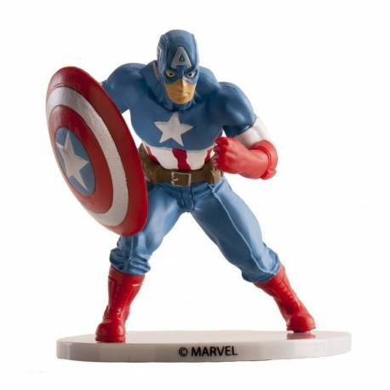 Figurilla MARVEL del Capitán América - 9 cm