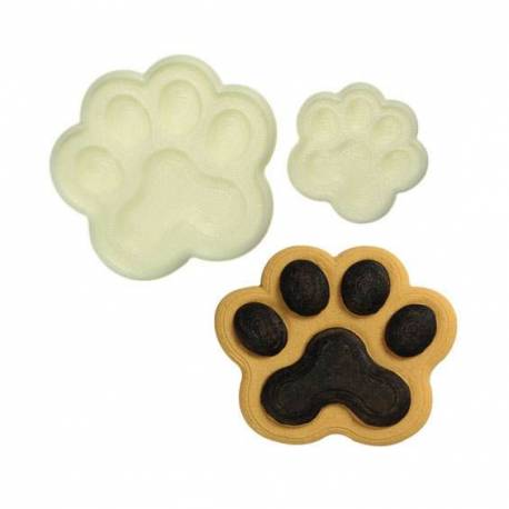 2 cutters dog paw