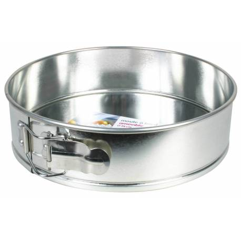 Baking pan Round with tinned hinge