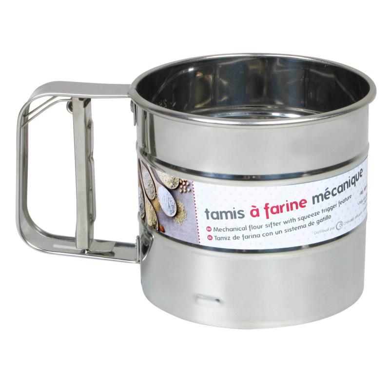 Stainless steel mechanical flour sieve