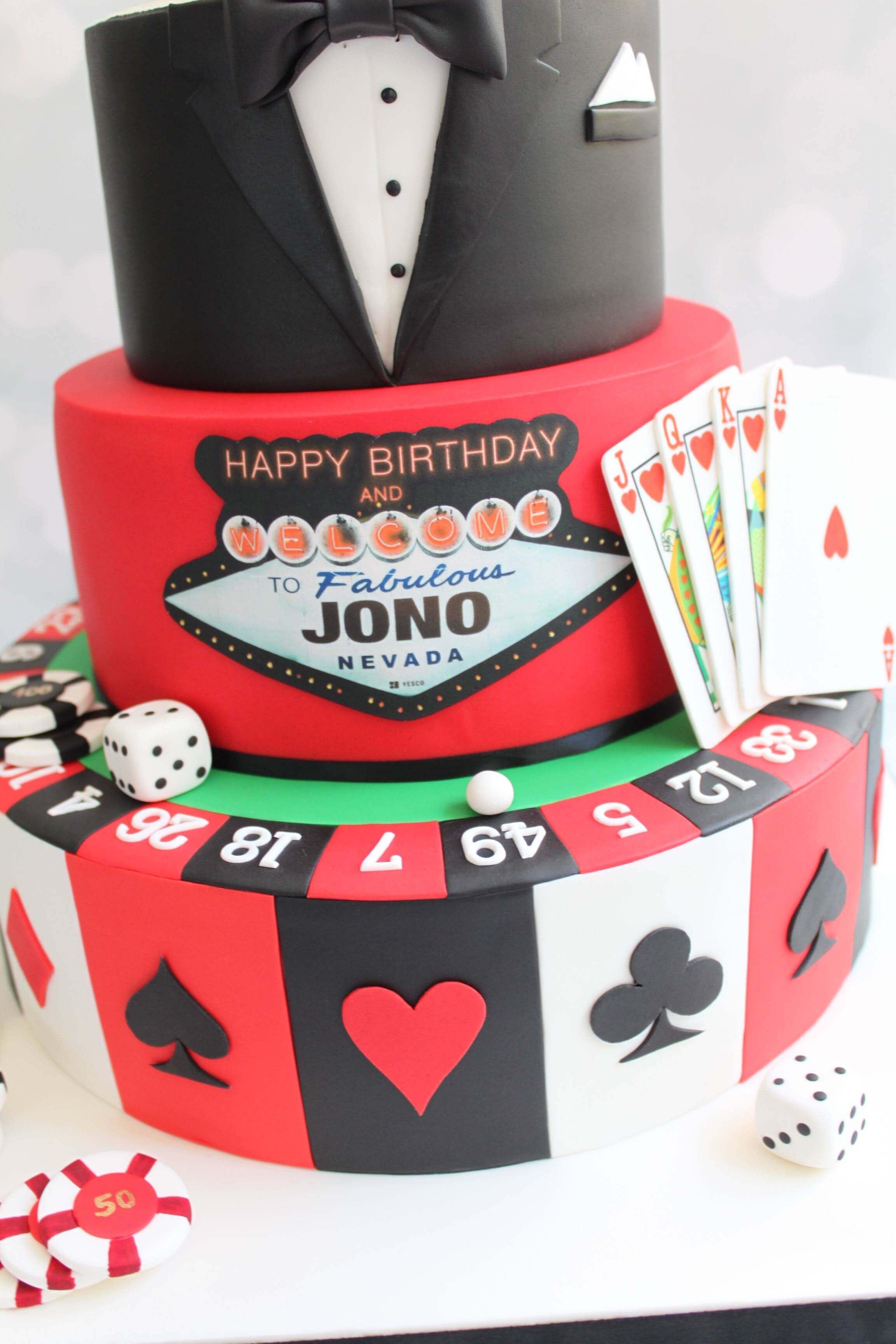 Impression Alimentaire Jeu De Cartes Casino Et Poker Planete Gateau