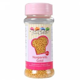 Micro beads gold sugar
