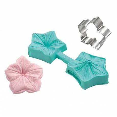 Cutter and Veiner for Flower 4cm