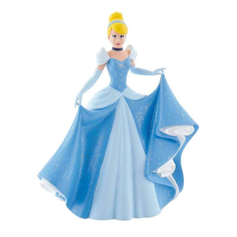 Figurilla de plástico Princesa Cenicienta - 10cm