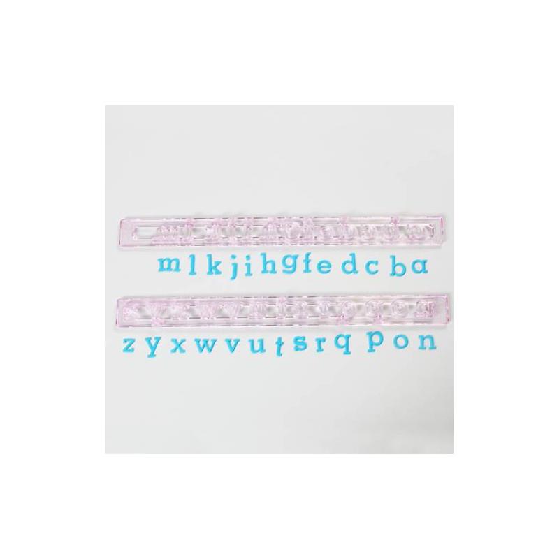 Emportes-pièces FMM ALPHABET en minuscules 15 mm
