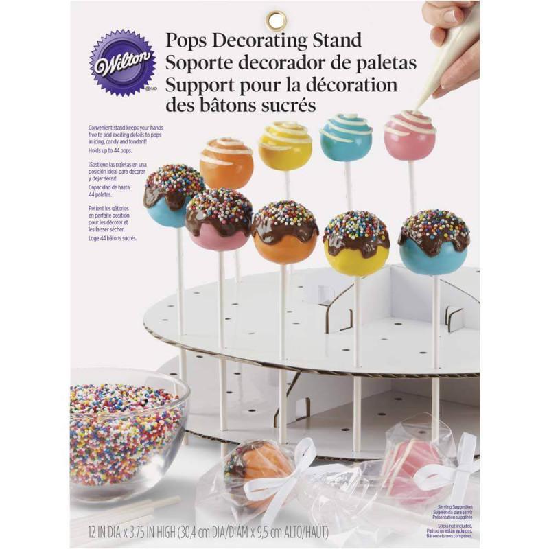 Expositor y piruleta CAKE POPS