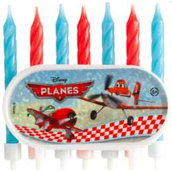 7 Bougies d'anniversaire avion PLANES
