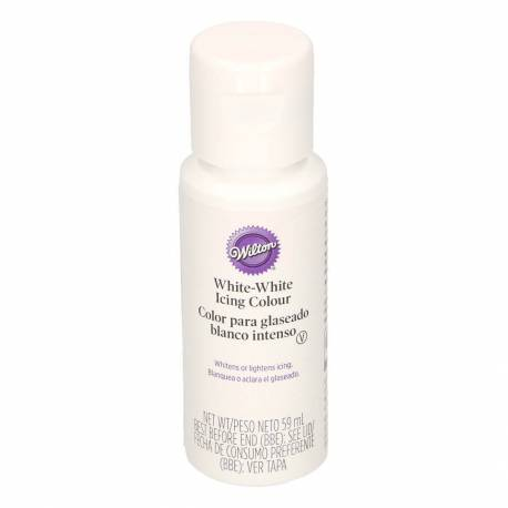Colorant alimentaire Wilton pour blanchir - 60ml