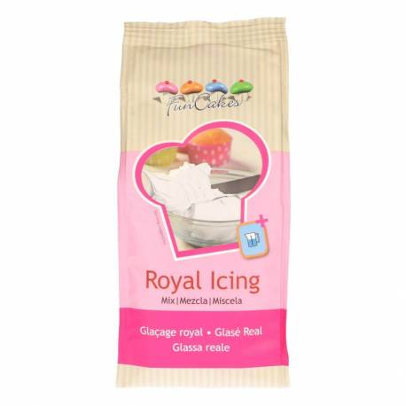 Royal white powder icing - 450g