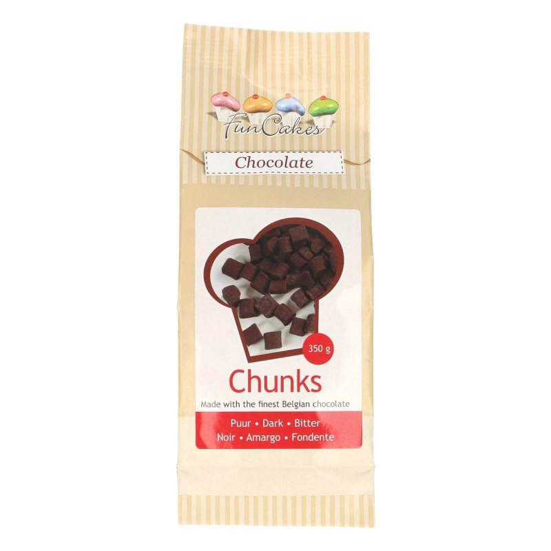 Pépites de chocolat Noir Chunk 350g