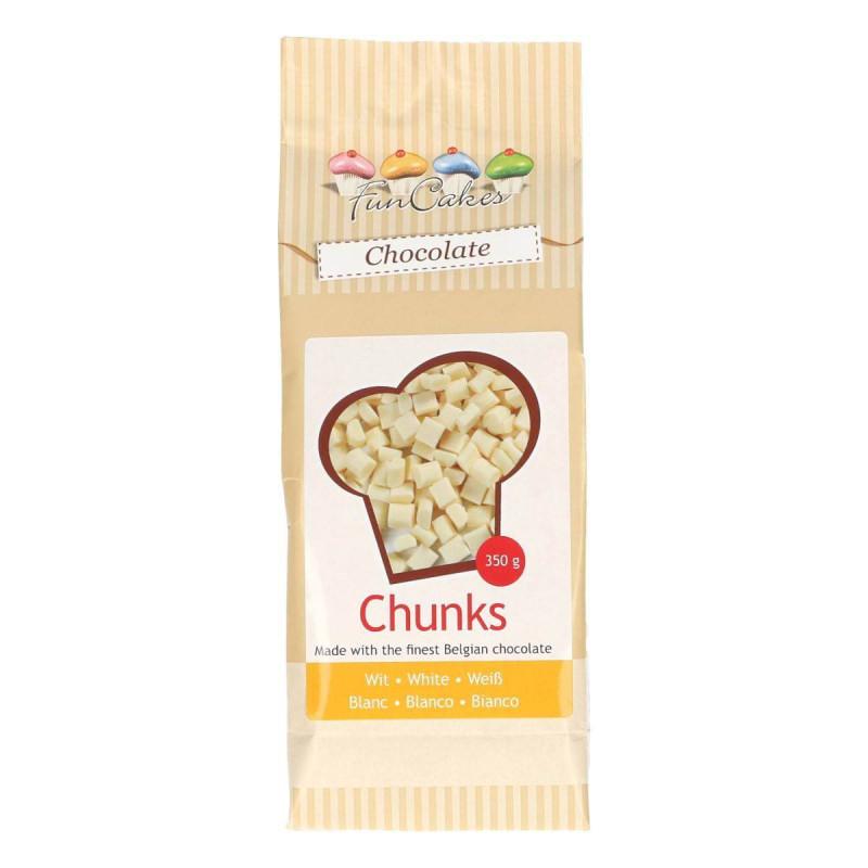 CHUNK White Chocolate Chips 350 g