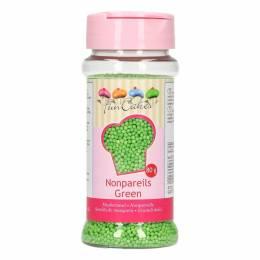 Micro billes en sucre Vert 80 g