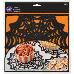 Manteles de tela de araña