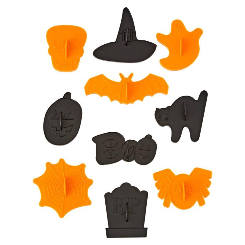 Kit de 10 emporte pièces Halloween Wilton