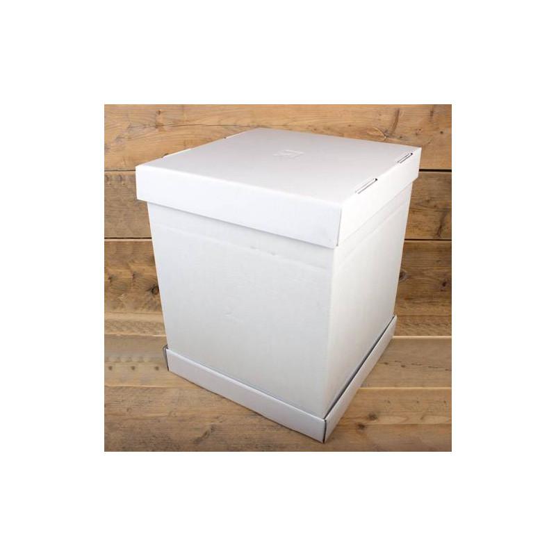 Caja de tarta 35cm lado x H 45cm - Funcakes