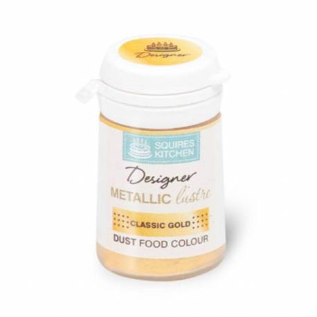 Metallic GOLD CLASSIC Gloss Powder Colour - 4 g