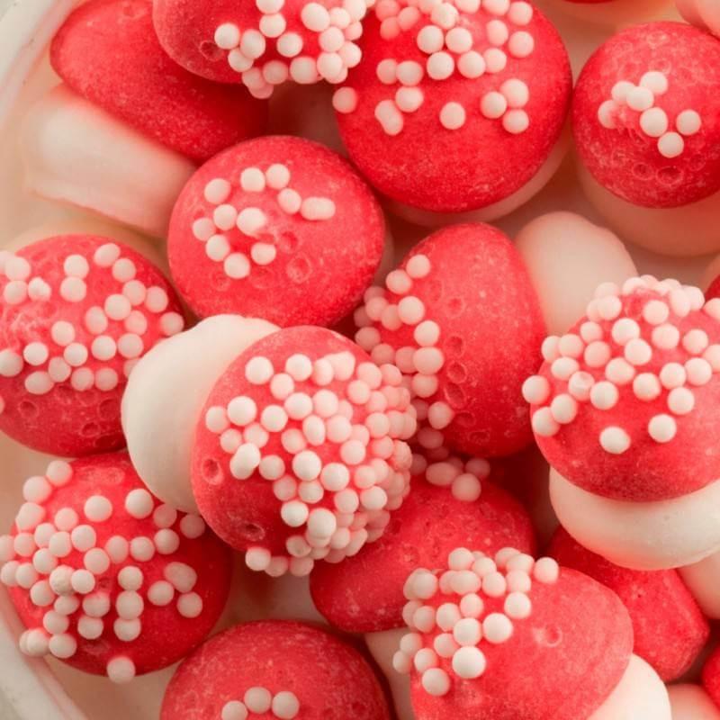 Small red mushrooms in sugar 80 G
